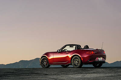 2016 Mazda Mx-5 Miata Art Print by Drew Phillips
