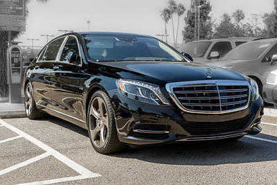 Photograph - 2016 Mercedes - Benz Maybach S600 by Gene Parks