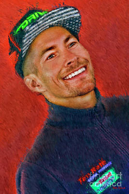 Photograph - 2016 Nicky Hayden by Blake Richards