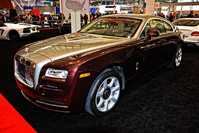 Photograph - 2016 Rolls Royce Wraith by Mike Martin