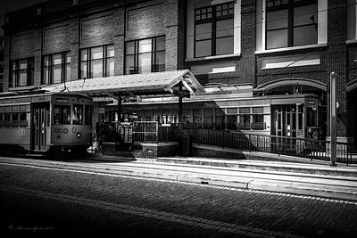 Trolley Photograph - 2016 Tampa Street Cars by Marvin Spates