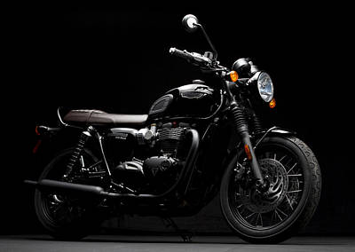 Photograph - 2016 Triumph Bonneville T120 by Keith May