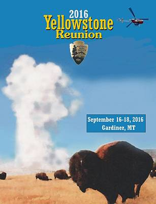 Digital Art - 2016 Yellowstone Nps Reunion by Les Herman