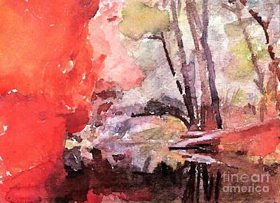 West Fork Painting - #20161215d by John Warren OAKES