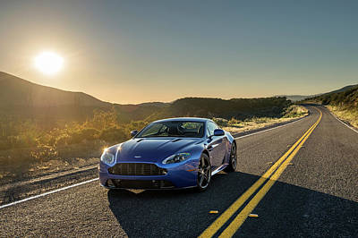 Photograph - 2017 Aston Martin V8 Vantage Gts by Drew Phillips