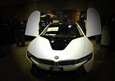 Photograph - 2017 Bmw I8 by Mike Martin