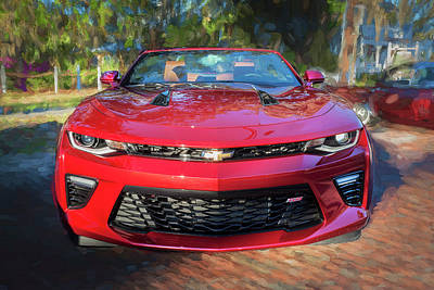 Photograph - 2017 Chevrolet Camaro Ss2 Convertible C180 by Rich Franco