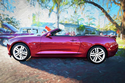 Photograph - 2017 Chevrolet Camaro Ss2 Convertible C182 by Rich Franco