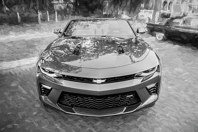 Photograph - 2017 Chevrolet Camaro Ss2 Convertible C185 by Rich Franco