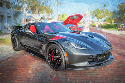 Photograph - 2017 Chevrolet Corvette Gran Sport  by Rich Franco