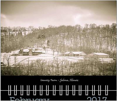Photograph - 2017 Classic Calendar Preview - February by Joni Eskridge