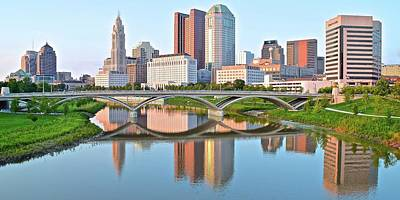 Photograph - 2017 Columbus Daylight Pano by Frozen in Time Fine Art Photography