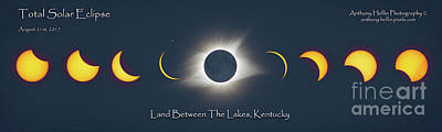 Photograph - 2017 Eclipse Over Lbl by Anthony Heflin