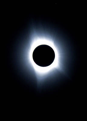 Photograph - 2017 Eclipse Totality  by Dan Sproul