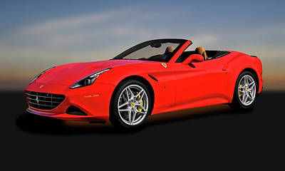 Photograph - 2017 Ferrari California T  -  2017ferraricaliforniat173625 by Frank J Benz