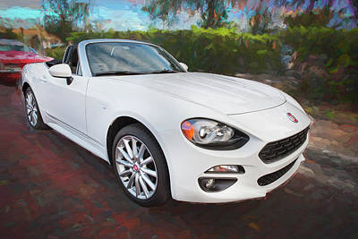 Photograph - 2017 Fiat 124 Spider C144 by Rich Franco