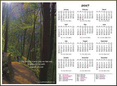Calendars Mixed Media - 2017 Inspirational Calendar - 3 by Charles Robinson