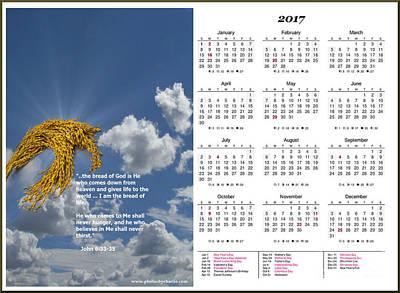 Calendars Mixed Media - 2017 Inspirational Calendar - 4 by Charles Robinson