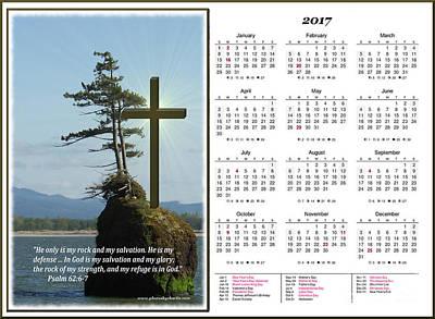Calendars Mixed Media - 2017 Inspirational Calendar by Charles Robinson