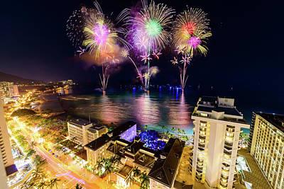 Photograph - 2017 Nagaoka Fireworks 11 by Jason Chu