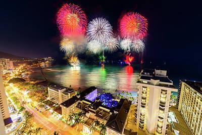 Photograph - 2017 Nagaoka Fireworks 12 by Jason Chu