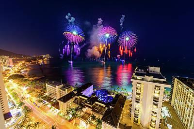Photograph - 2017 Nagaoka Fireworks 16 by Jason Chu