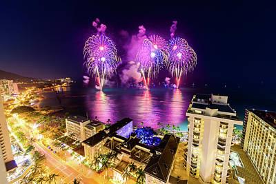 Photograph - 2017 Nagaoka Fireworks 17 by Jason Chu