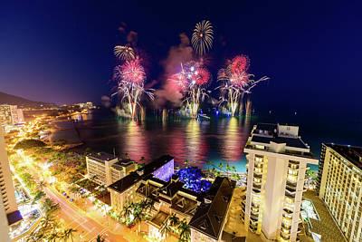 Photograph - 2017 Nagaoka Fireworks 18 by Jason Chu