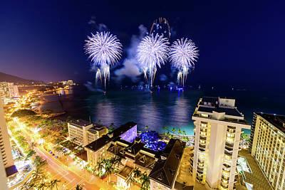 Photograph - 2017 Nagaoka Fireworks 19 by Jason Chu