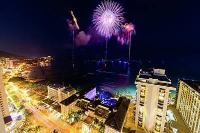 Photograph - 2017 Nagaoka Fireworks 20 by Jason Chu
