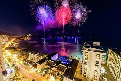 Photograph - 2017 Nagaoka Fireworks 21 by Jason Chu