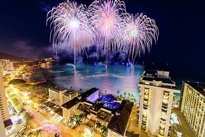 Photograph - 2017 Nagaoka Fireworks 23 by Jason Chu