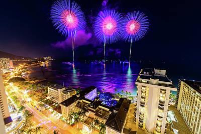 Photograph - 2017 Nagaoka Fireworks 24 by Jason Chu