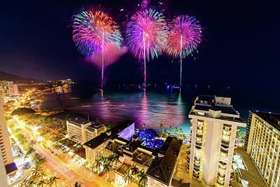 Photograph - 2017 Nagaoka Fireworks 26 by Jason Chu