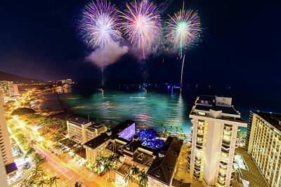 Photograph - 2017 Nagaoka Fireworks 27 by Jason Chu
