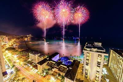 Photograph - 2017 Nagaoka Fireworks 29 by Jason Chu