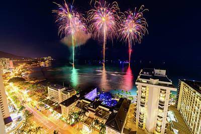 Photograph - 2017 Nagaoka Fireworks 30 by Jason Chu