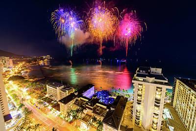 Photograph - 2017 Nagaoka Fireworks 32 by Jason Chu