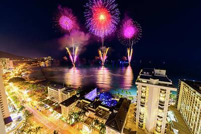 Photograph - 2017 Nagaoka Fireworks 33 by Jason Chu