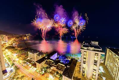 Photograph - 2017 Nagaoka Fireworks 35 by Jason Chu