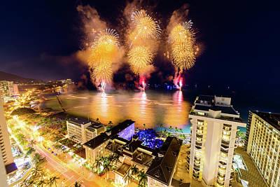Photograph - 2017 Nagaoka Fireworks 37 by Jason Chu