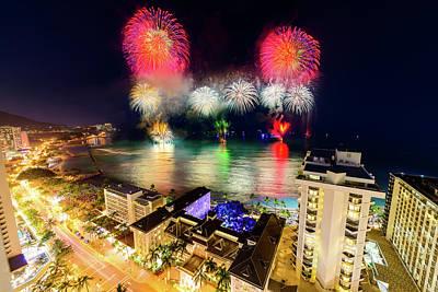 Photograph - 2017 Nagaoka Fireworks 38 by Jason Chu
