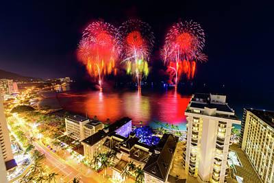 Photograph - 2017 Nagaoka Fireworks 40 by Jason Chu