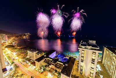 Photograph - 2017 Nagaoka Fireworks 42 by Jason Chu