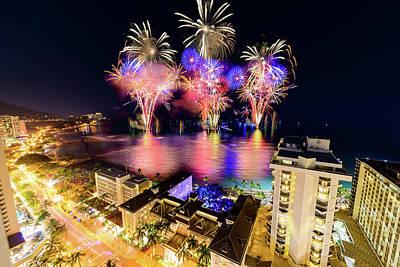 Photograph - 2017 Nagaoka Fireworks 6 by Jason Chu