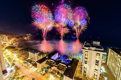 Photograph - 2017 Nagaoka Fireworks 9 by Jason Chu