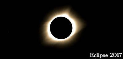 2017 Total Solar Eclipse Art Print