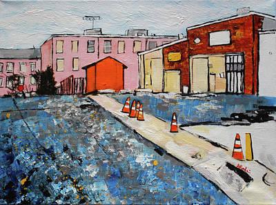 Eisenhower Painting - 201721 Eisenhower Valley Alexandria by Alyse Radenovic
