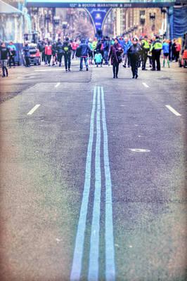 Photograph - 2018 Boston Marathon Scenes by Joann Vitali