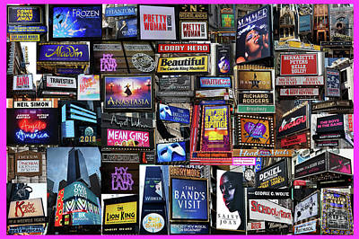 Photograph - 2018 Broadway Spring Collage by Steven Spak